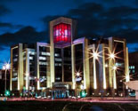 Russia Lukoil Holdings Headquarters (Artistical Light Cube)